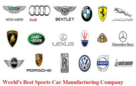 what is the best company car for you world s best sports car manufacturing company see detials