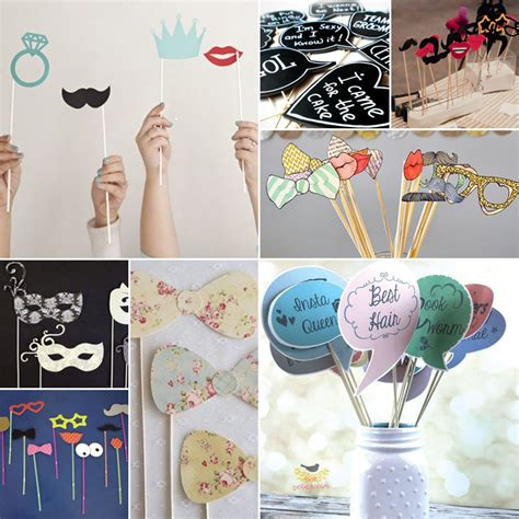 Handmade Photo Props - diy photo props paper perfection south africa