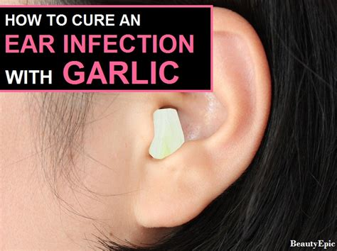 Hair Dryer Ear Infection how to cure an ear infection fast with garlic