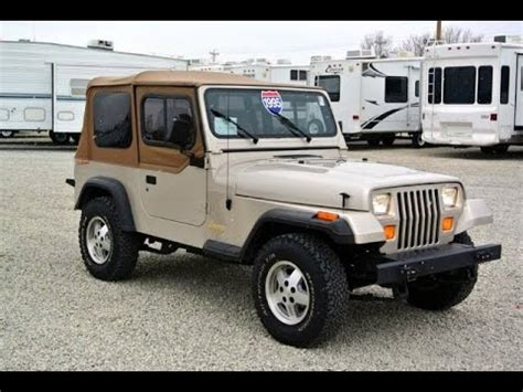 Jeep For Sale Ohio Jeep Yj Soft Top
