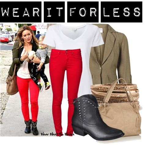 How Would You Wear It Hilary Duff Fabsugar Want Need by Wear It For Less Hilary Duff Styles And