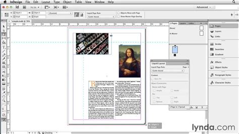 layout view indesign applying guide based liquid layout rules using indesign