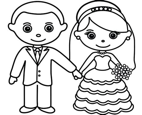 Printable And Groom Coloring Pages printable and groom coloring pages printable brides