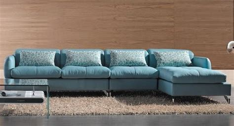 light blue leather sectional sofa modern sectional sofa light blue color sofa bed