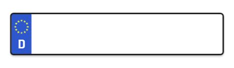 Auto Kennzeichnen by G 252 Nstig Autokennzeichen Kaufen Bei Kennzeichen Express