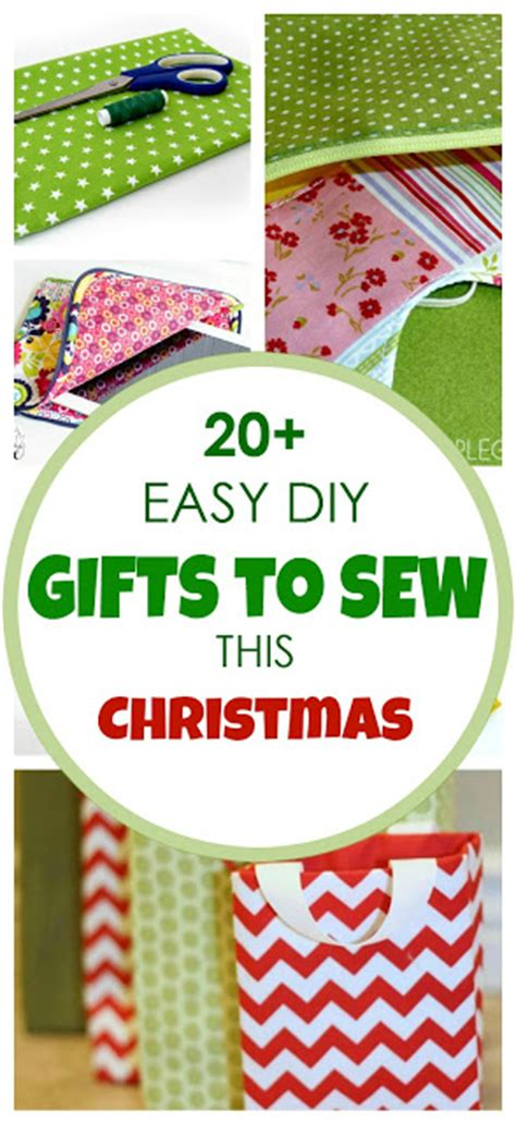 20 easy diy gifts to sew this christmas applegreen