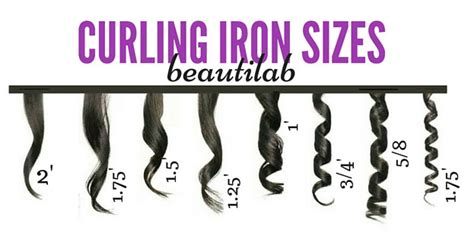 what is the best size curling iron for medium length hair yhat is thin curling iron sizes types what should i use
