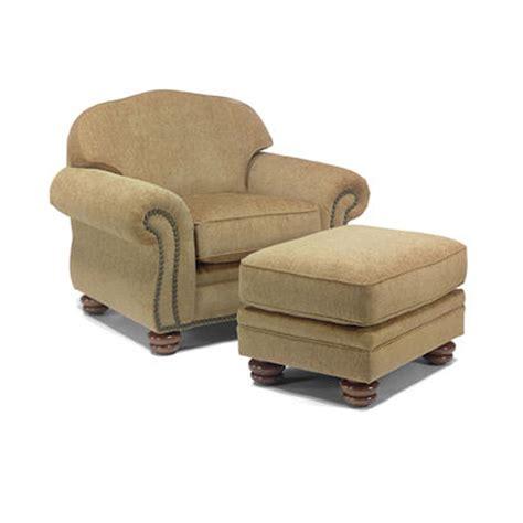 flexsteel bexley leather sofa flexsteel 8648 10 08 bexley chair and ottoman discount