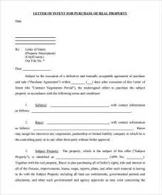 Letter Of Intent To Rent Template 10 Real Estate Letter Of Intent Templates Free Sample