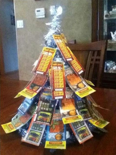 christmas trees decorated with scratch tickets 25 best ideas about lottery ticket tree on saints tickets raffle ideas and lottery