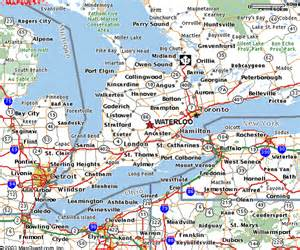 map of southwestern ontario canada maps of the kw area qip 2004 the 7th workshop on
