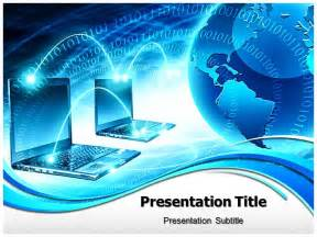 powerpoint template computer global computer network powerpoint templates powerpoint