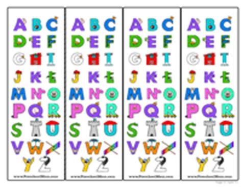 printable preschool bookmarks free preschool bookmarks
