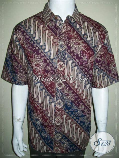 Batik Pria Cc kemeja batik pria berkualitas batik cap gradasi lengan pendek ld441cg xl toko batik