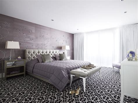 lavendar bedroom soft and hard interiors by color