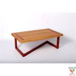 table basse design en bois et acier