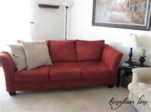 Slipcovers Ottoman How To Make A Couch Slipcover Part 1 Honeybear Lane