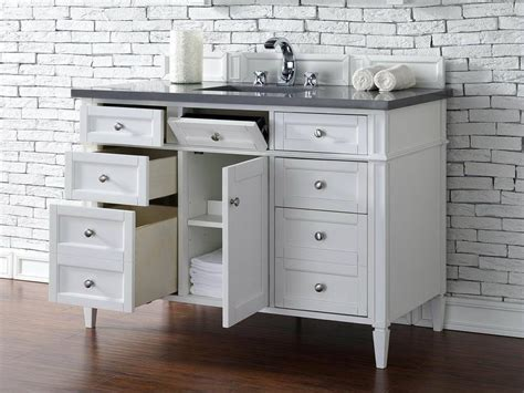 bathroom vanity tops 48 inches contemporary 48 inch single bathroom vanity white finish