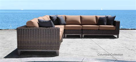 outdoor patio sectional sofa sectional patio furniture clearance canada home outdoor