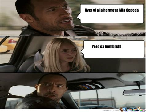 The Rock Meme Car - mia cepeda by yessi16 meme center