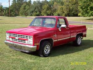 1986 Chevrolet Truck Ward7racing 1986 Chevrolet Silverado 1500 Regular Cab