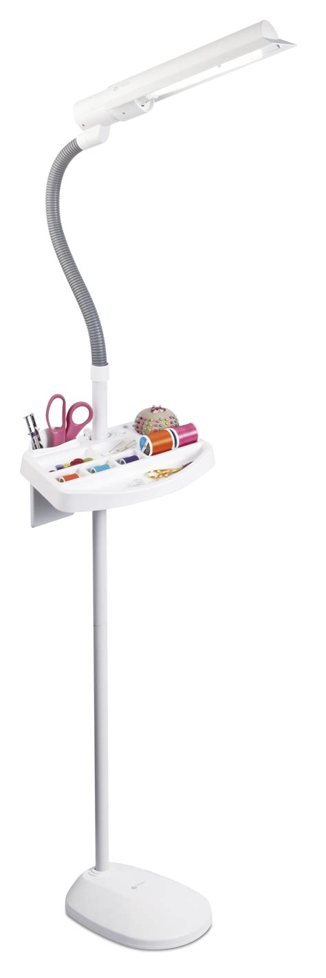 Ottlite 18w Sewing Floor L With Accessory Tray ottlite 18w sewing floor l with accessory tray jo