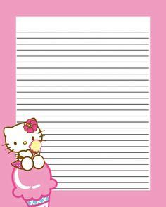 printable ice cream writing paper printable ice cream stationery and writing paper free pdf