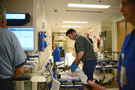 robert wood johnson emergency room er visits rise despite health wsj