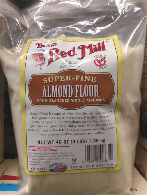 Bob S Mill Almond Flour Gluten Free Tepung Almond bobs mill almond flour from blanched whole almonds 3 lbs ebay