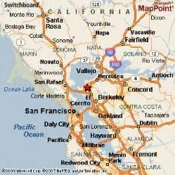 san pablo california map san pablo california