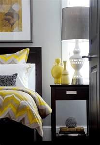 Charmant Couleur Pour Chambre A Coucher #4: interieur-chambre-jaune-et-gris.jpg