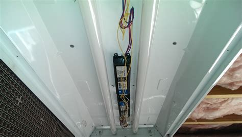 How To Replace The Ballast In A Fluorescent Lighting Fixture Fluorescent Ballast Replacement Did It Myself