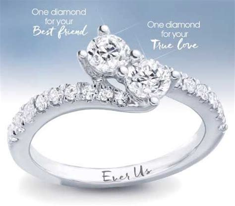 1000  images about Ever Us Diamond Ring on Pinterest