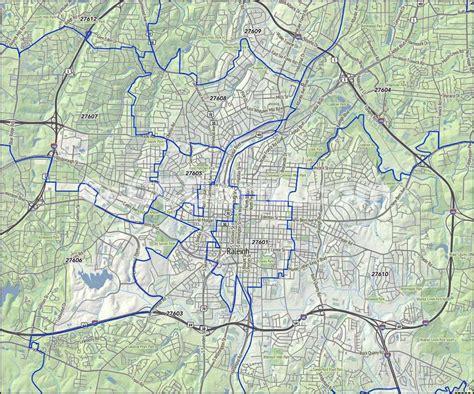 raleigh durham carolina map raleigh nc zip codes county nc zip code map