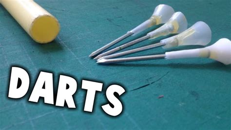 How To Make Paper Darts - how to make darts