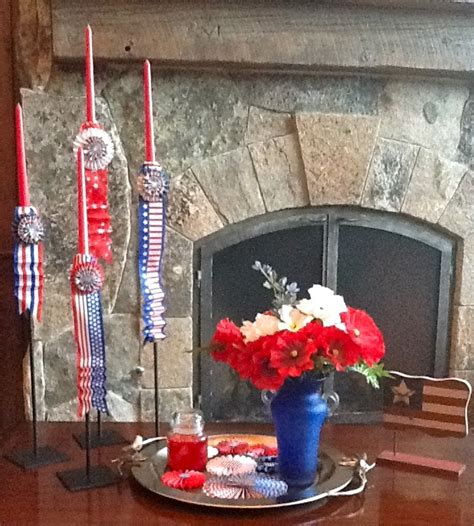 Patriotic Decor For Home Patriotic Home Decor Patriotic Home Pinterest