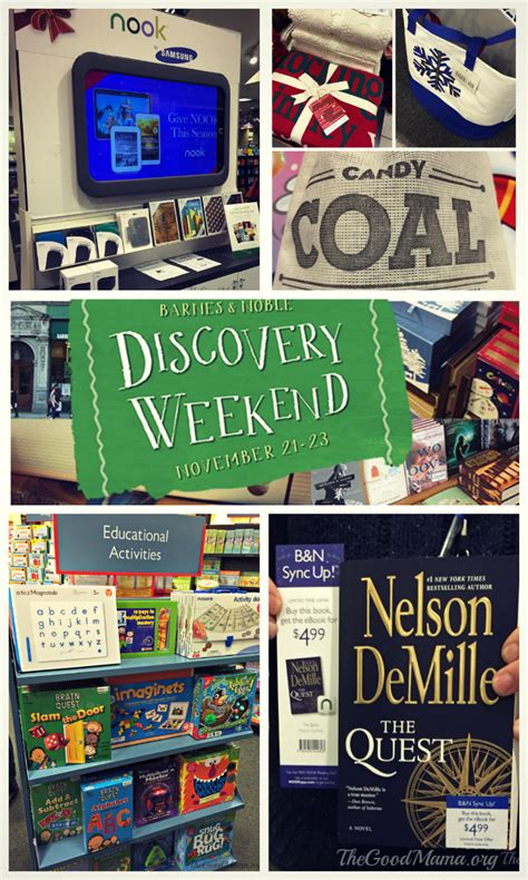 Where Can I Buy Barnes And Noble Gift Cards - barnes noble discovery weekend gift ideas the good mama