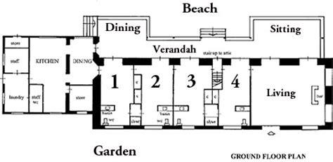 one room deep house plans rum jetty beach house floor plans
