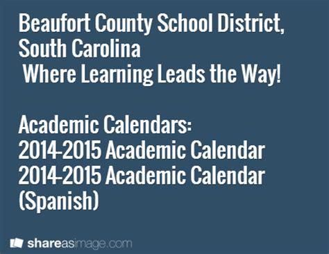 Beaufort County School Calendar Beaufort County School District South Carolina Where