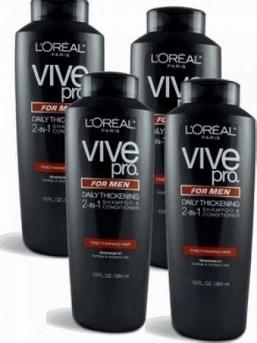buy l oreal vive pro for daily thickening shoo pack of 2 at low prices in l oreal vive pro for daily thickening shoo thinning hair 13 ebay
