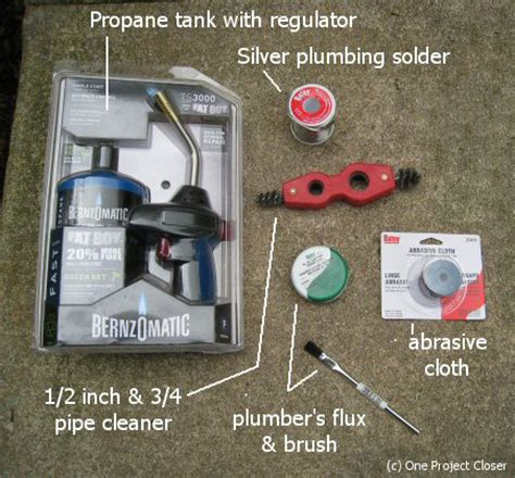 Alternative To Copper Plumbing by How To Sweat Solder Copper Water Pipes For A Watertight