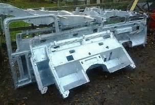 land rover series 3 galvanised bulkhead 163 975 00