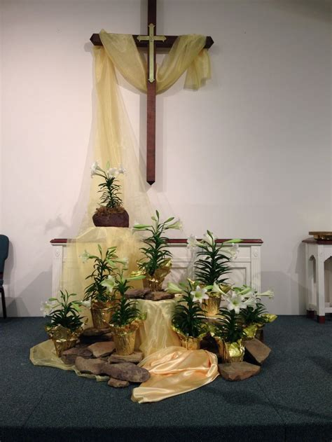 Easter Sunday Service Decorations | 371 best images about church decorating ideas on pinterest