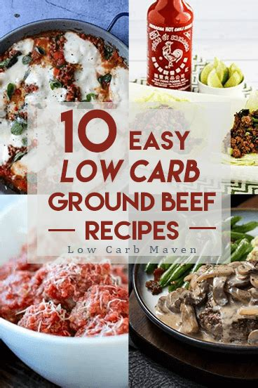cutting the carbs easy delicious low carb and carb free recipes books 10 easy low carb ground beef recipes the whole family will