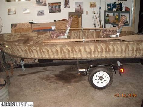 duck hunting boats for sale in indiana armslist for sale 12 ft duck hunting and fishing camo