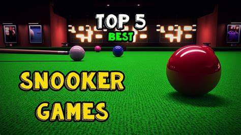 best snooker top 5 snooker android pc snooker freaks