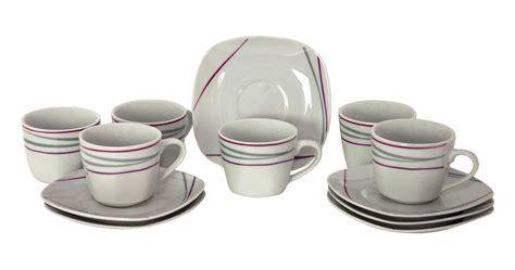 U Cl Tongsis Jumbo 6 10 Cm 6er set espressotasse 10cl mit espressountertasse 12 1cm