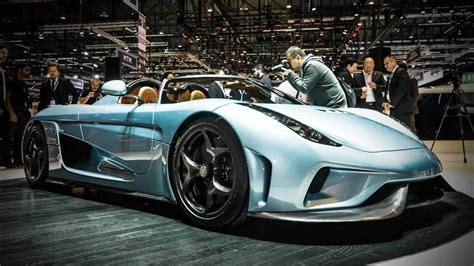 koenigsegg regera electric motor 6 hottest supercars from the 2015 geneva motor show so far