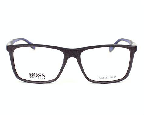 Frame Kacamata Hugo 0708 03 Grey hugo eyeglasses 0708 h4f grey horn visionet