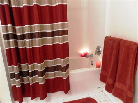 red shower curtain red and black shower curtains www imgkid com the image
